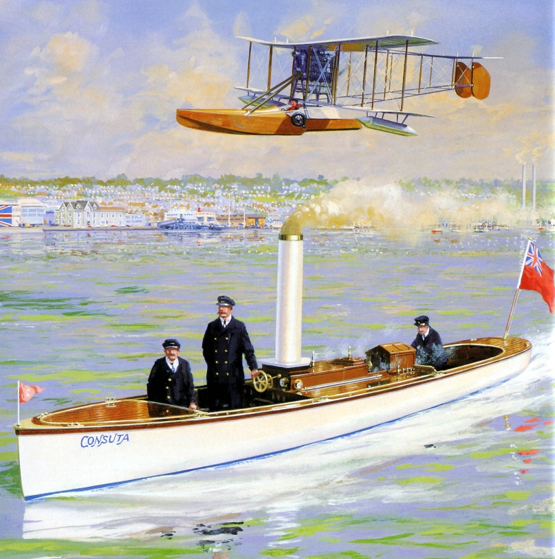 Aviation Feature – Bat-Boat 100 Commemorative Exhibition – Classic Boat Museum Gallery, East Cowes, Isle of Wight