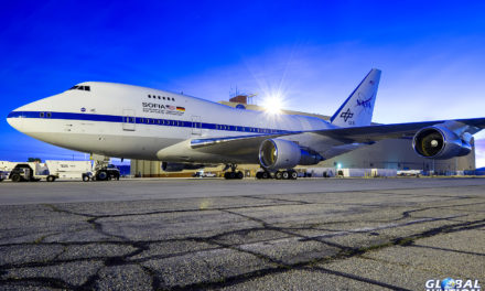 Feature – Flying Along With a SOFIA Mission