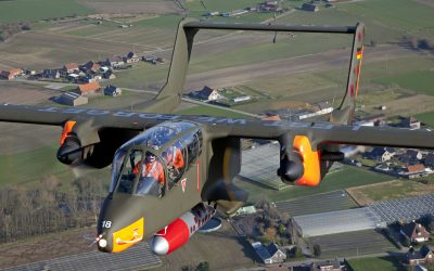 Aviation news: Bronco Demo Team – Bringing Poppies from Flanders Fields