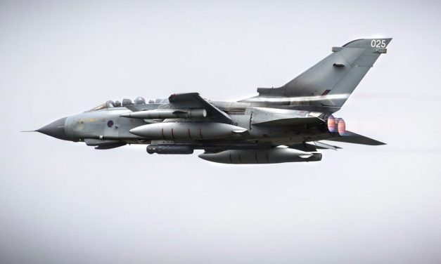 Exercise Frisian Flag 2017 – RAF Tornados exercise hard with their NATO allies