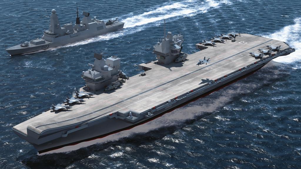 Aviation News – Queen names new Royal Navy Aircraft Carrier