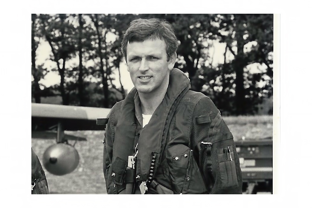 Bill Ramsey when he was a 20 Squadron Tornado pilot - Image c/o Bill Ramsey