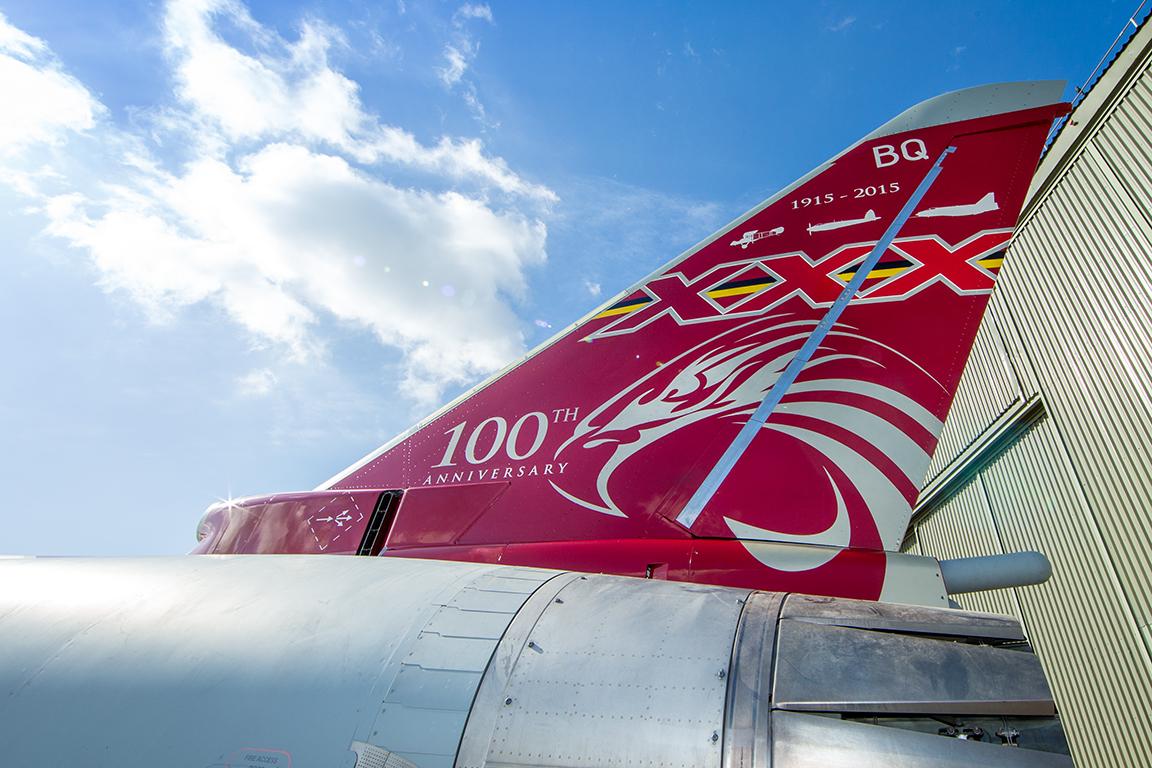 29)R) Sqn Centenary Jet Paint Scheme by SAC Megan Woodhouse
