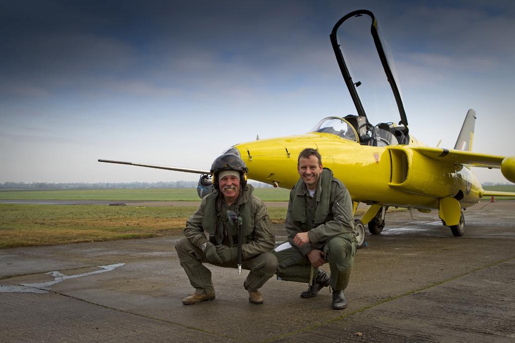 Chris Heames (L) and Oli Wheeldon © Darren Harber