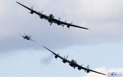 Airshow News – See both Lancasters close-up at the Jersey International Air Display 2014
