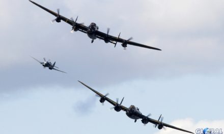 Airshow News – See both Lancasters close-up at the Jersey International Air Display 2014