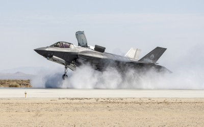 Aviation News: F-35B Successfully Completes Wet Runway and Crosswind Testing