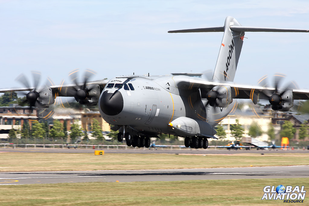 Airshow News – A400M to support SoloTurk at RAF Waddington