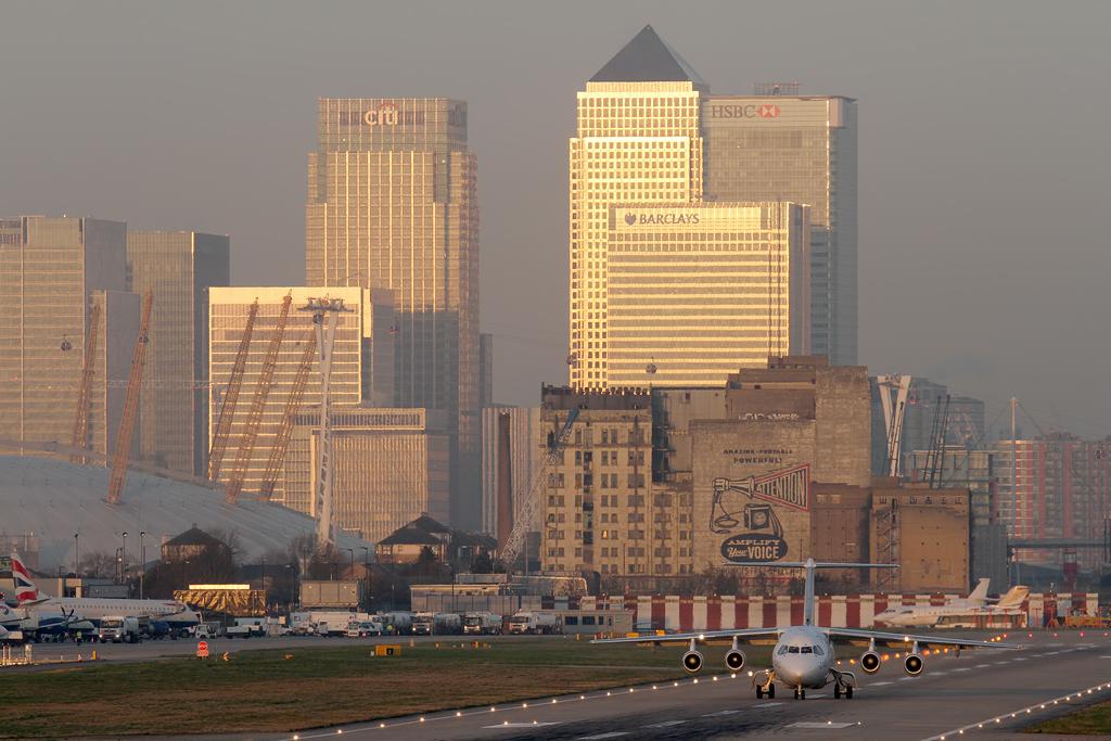 BlogGAR: Karl Drage – London-City Airport (LCY) – 05/03/2014