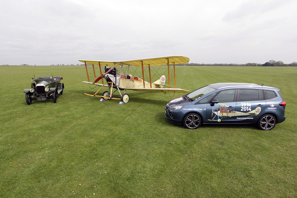 "Aviation News – Vauxhall to support B.E.2c ""Biggles Biplane"" G-AWYI"