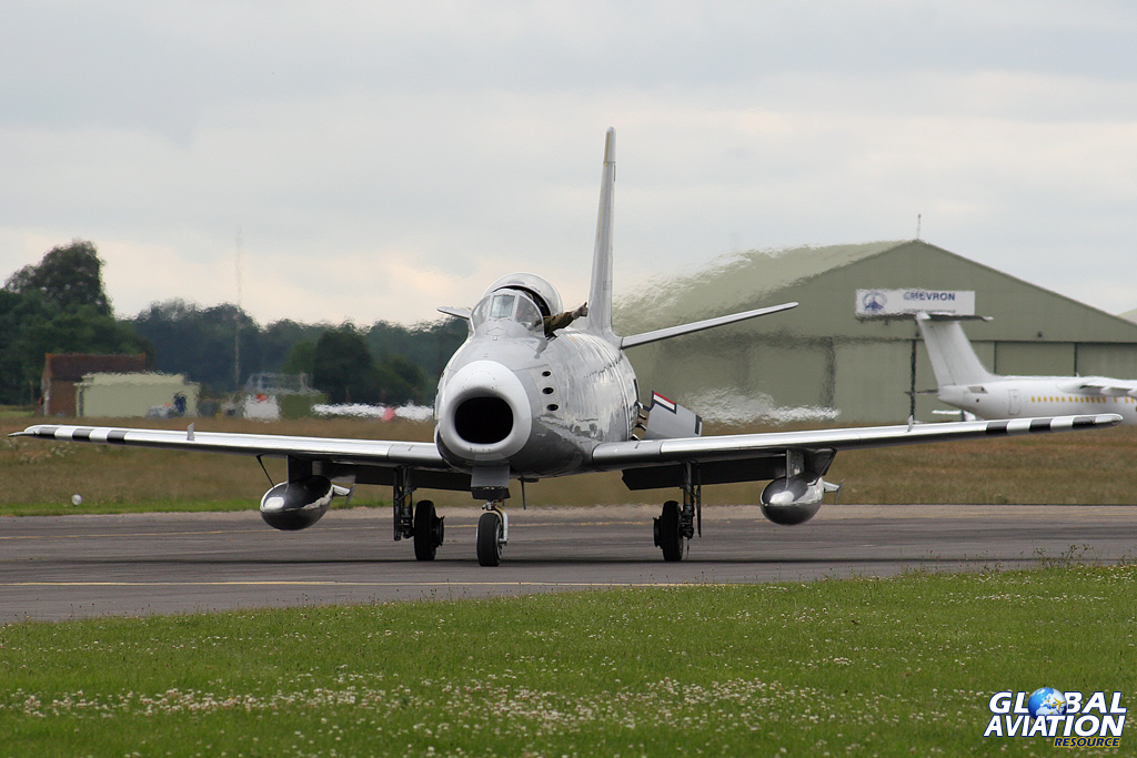 Aviation News – UK-based F-86A Sabre returns to the USA