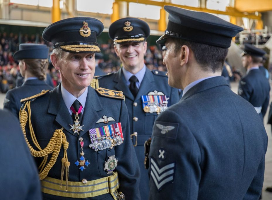 Air Chief Marshal Sir Stephen Hillier - Crown Copyright / RAF Marham