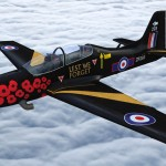 Airshow Exclusive – 2014 RAF Tucano Display Scheme