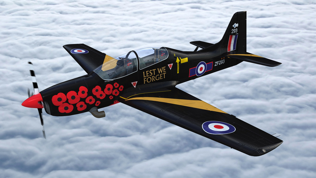 Airshow Exclusive – 2014 RAF Tucano Display Scheme