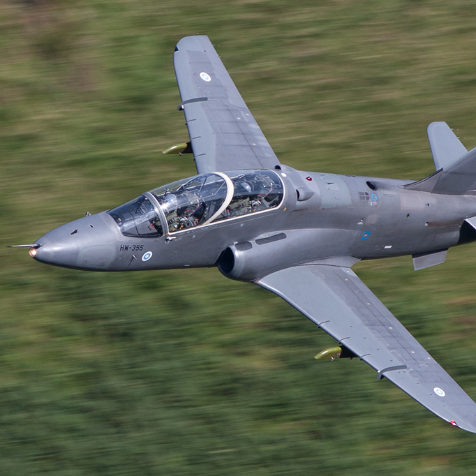 BlogGAR – Paul Filmer – Finnish Air Force Hawks at The Bwlch