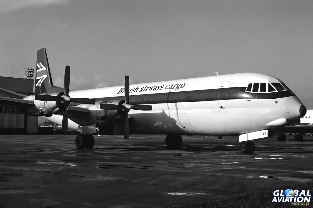 Aviation Feature – London Heathrow Airport 1980