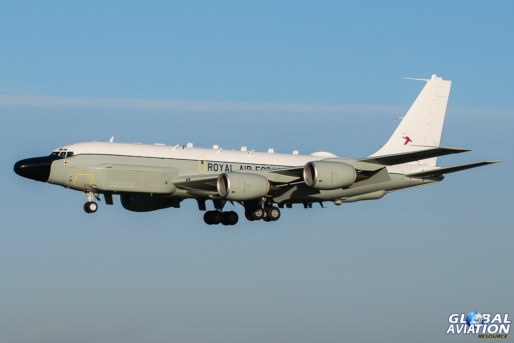 Aviation News – The RAF's RC-135 Rivet Joint takes to the sky