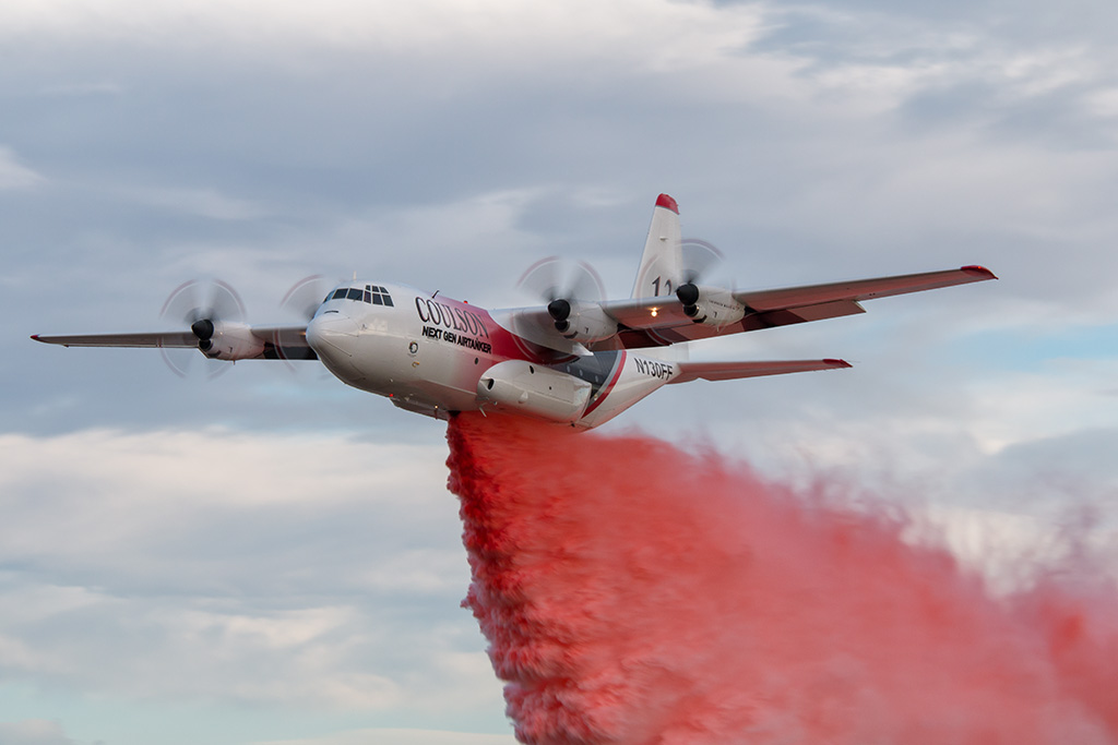 Aviation News – Coulson C-130 Demonstration Drop in Colorado