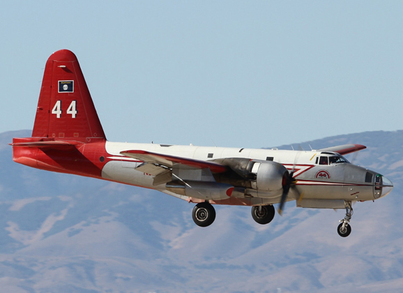 Aviation Feature – US Forest Service water bombers, Lancaster Fox Field
