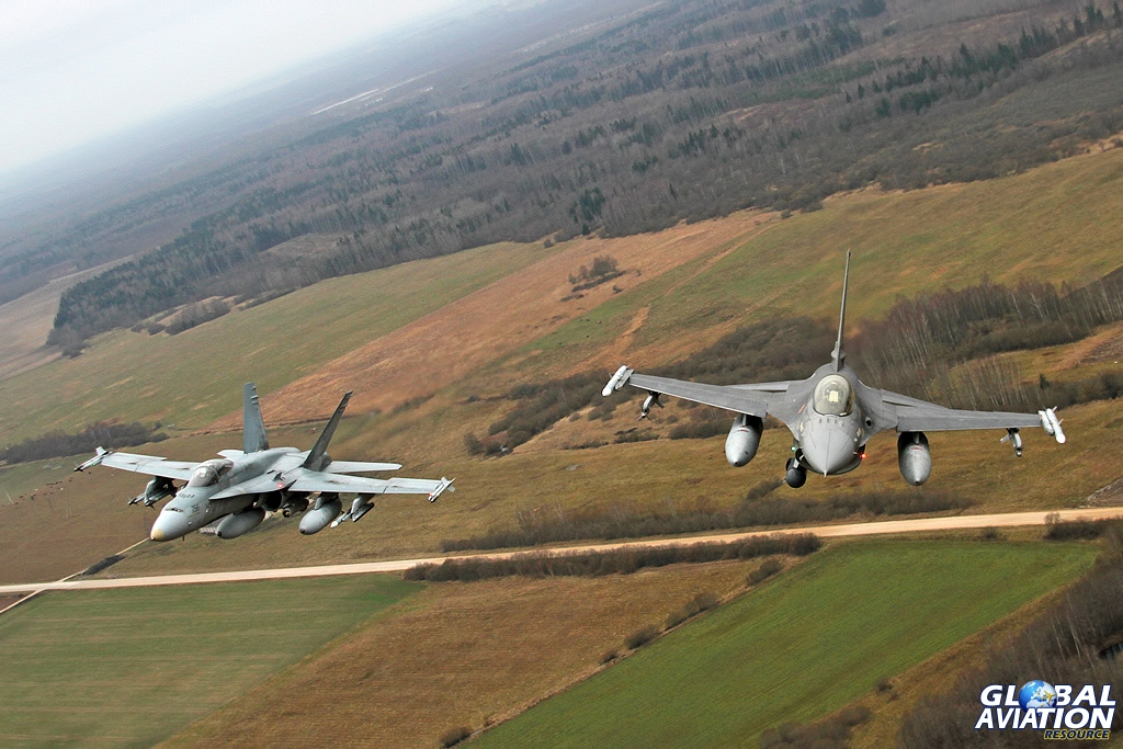 Aviation News – Portugal and Canada on Baltic Air Policing Duties at Siauliai