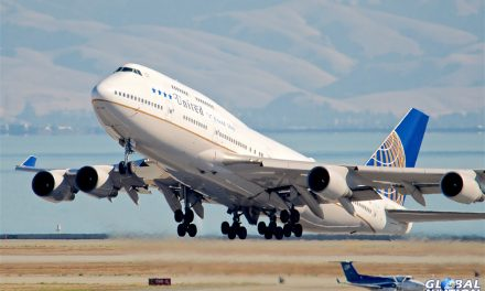 Aviation Event – United Airlines Boeing 747 Service Flies West