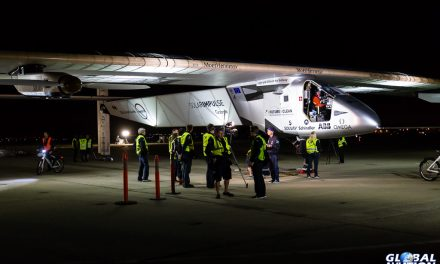 Aviation Event – Solar Impulse Leaves California