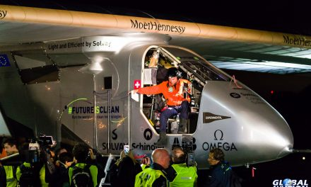 Aviation Event – Solar Impulse Completes Pacific Crossing