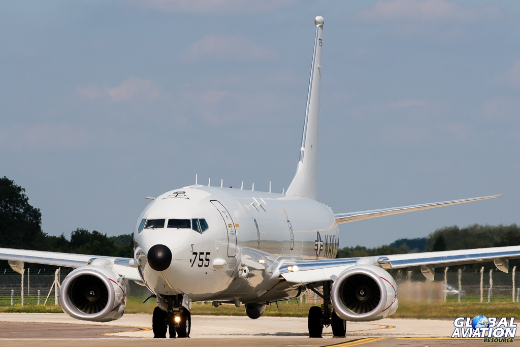 BlogGAR – Gordon Jones – P-8A Poseidon visits RAF Mildenhall for the first time
