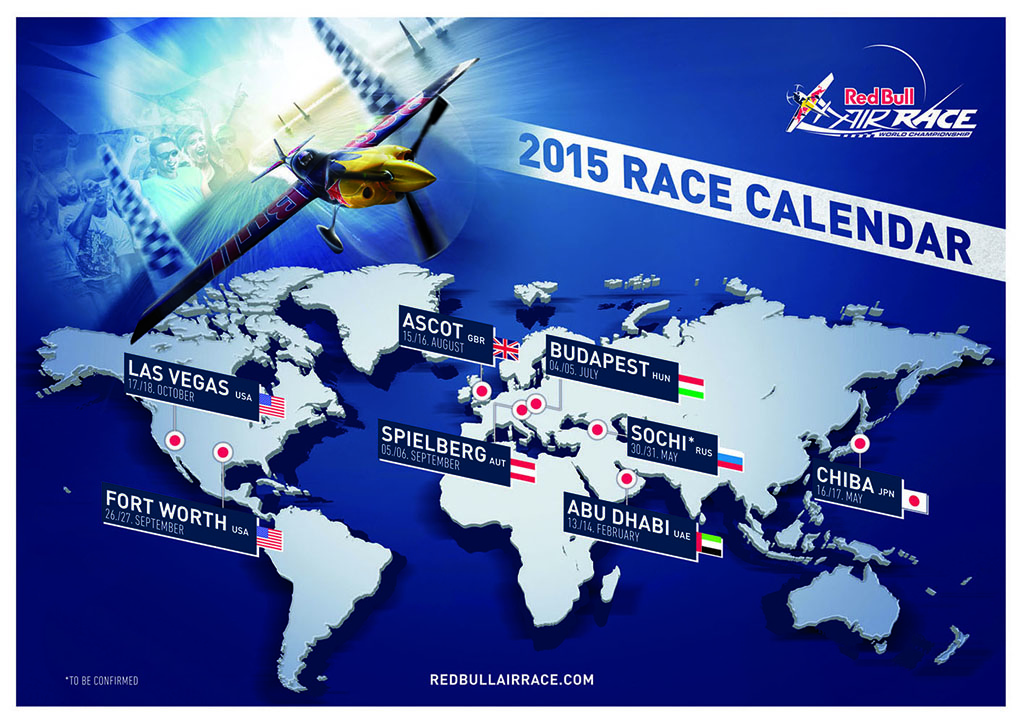 Aviation News – Red Bull Air Race back in 2015 with new stops in Russia, Japan & Hungary