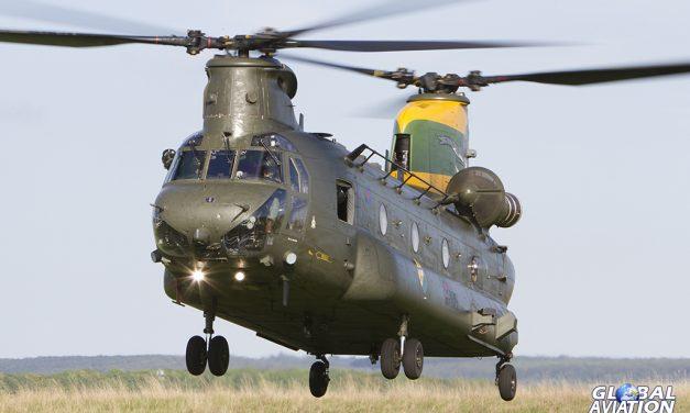 Military Aviation – RAF Chinook Squadron Centenaries
