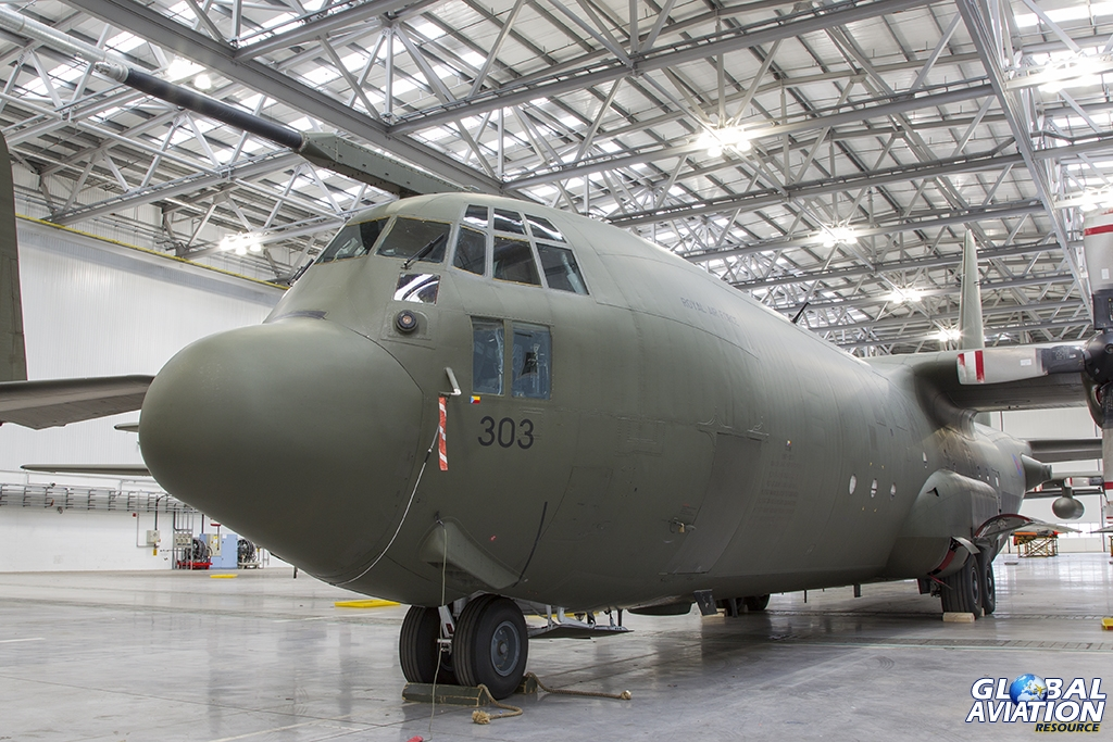 Aviation Feature – RAF C-130K Hercules in Storage