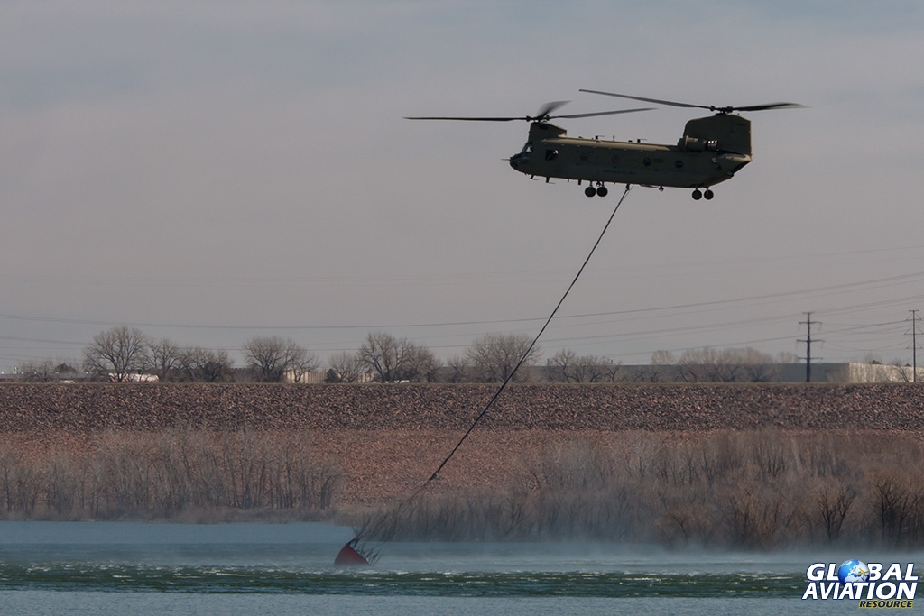 Aviation News – Colorado military assets conduct annual rotary fire-fight training