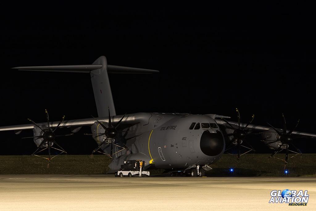 Military Aviation News – RAF Long-Range Training Missions to Colorado