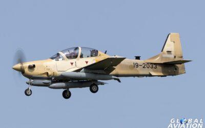 News – Nigerian Super Tucano delivery flight