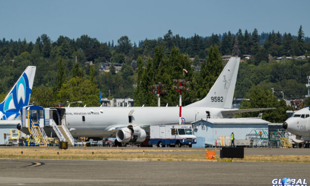 Aviation News – First Norwegian P-8 On The Line