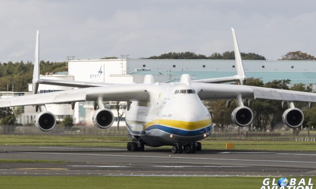 Aviation news – An-225 visits Prestwick Airport